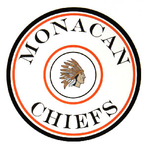 Round label for Monacan Chiefs