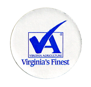 Round Virginia's Finest Label