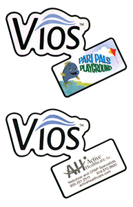 Die cut Labels for Vios